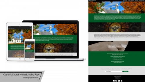 catholic-church-home-landing-page